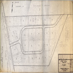Pine Hill Cemetery plan 1988